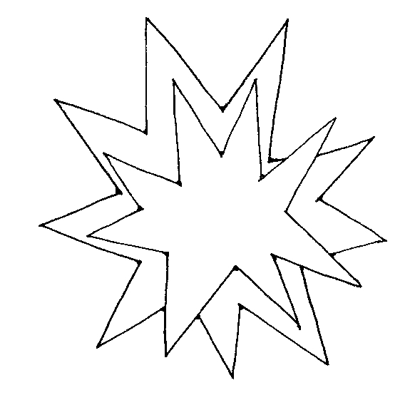 Clipart explosion black and white. Cliparting com