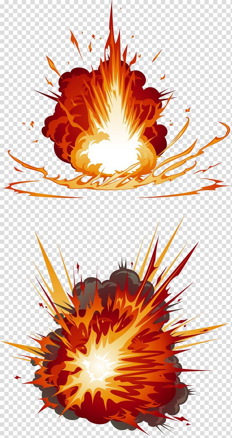 Two illustrations blast my. Firecracker clipart explosion