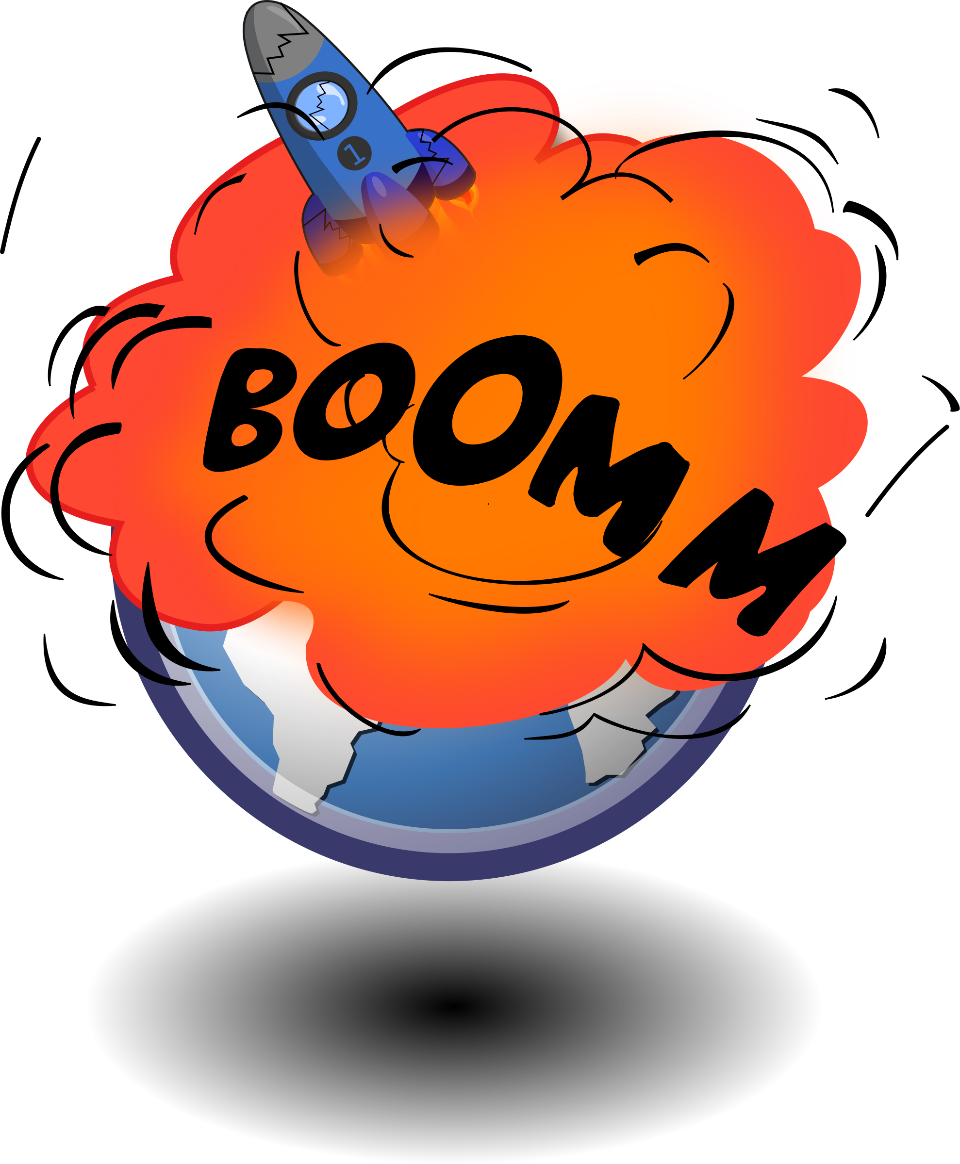 Explosion clipart boom. Free space at getdrawings
