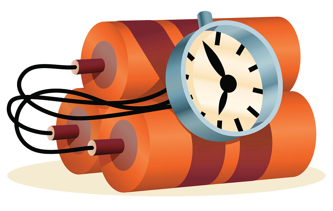 Time bomb transprent png. Explosion clipart grenade explosion