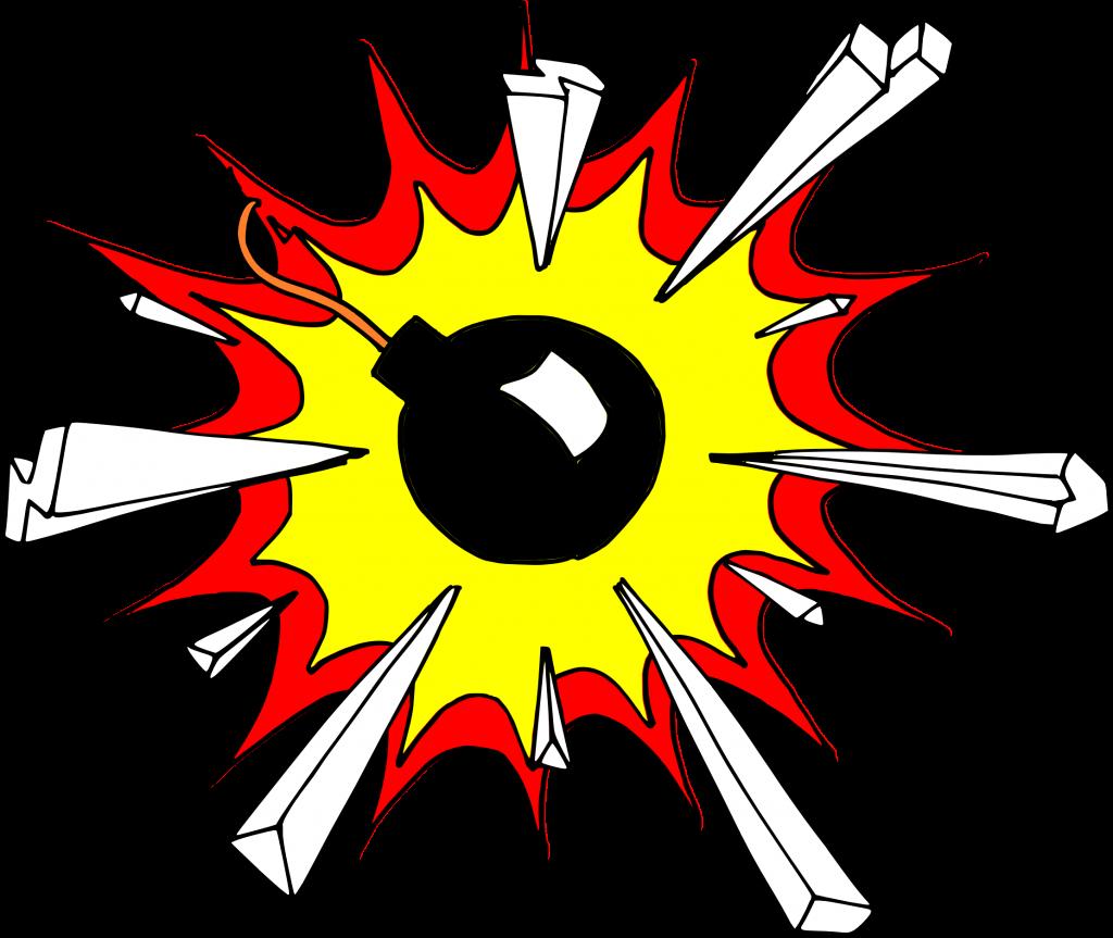 comic png transparent. Clipart explosion boom