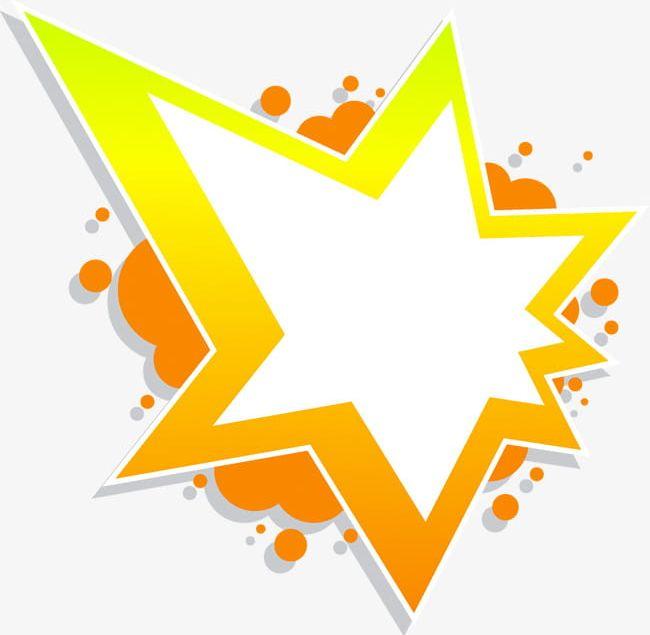 Orange simple texture png. Clipart explosion border