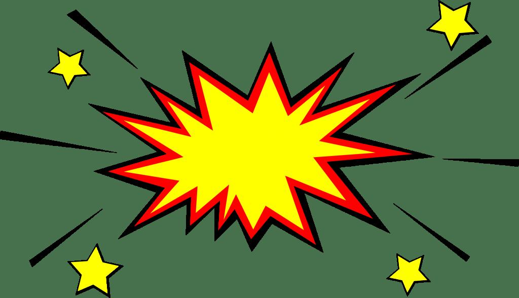 Cartoon png . Explosion clipart bubble