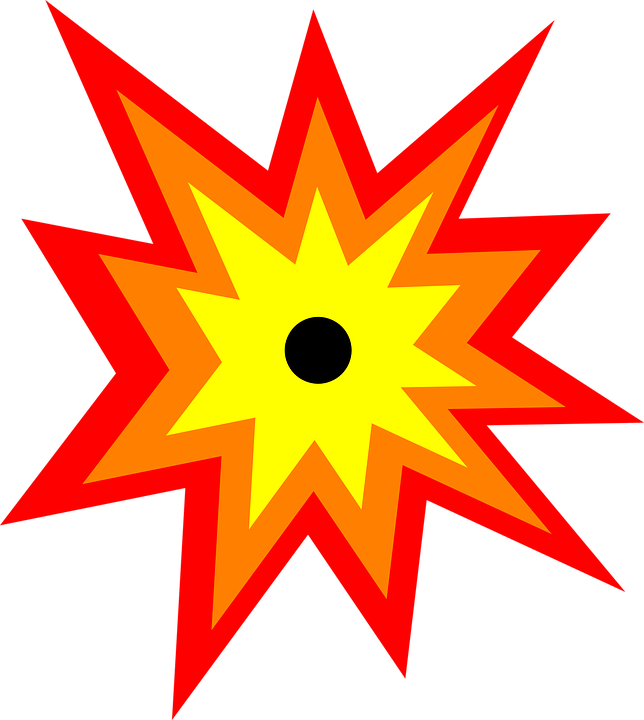 Clipart explosion chaos. Collection of free fulminating