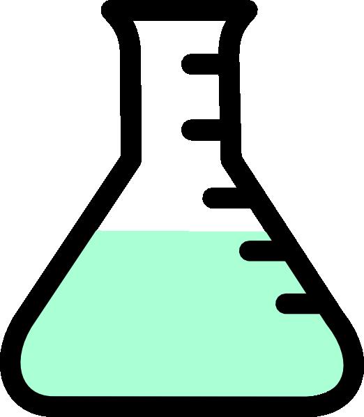 Green clipart beaker. Clip art at clker