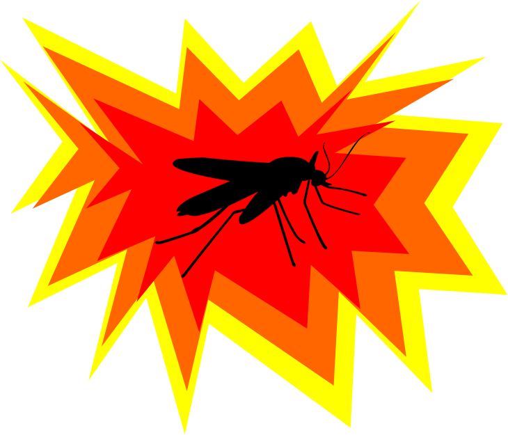 Experimental insecticide could cause. Mosquito clipart chikungunya