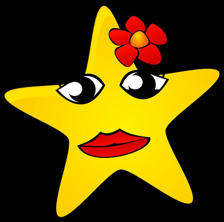 night clipart star