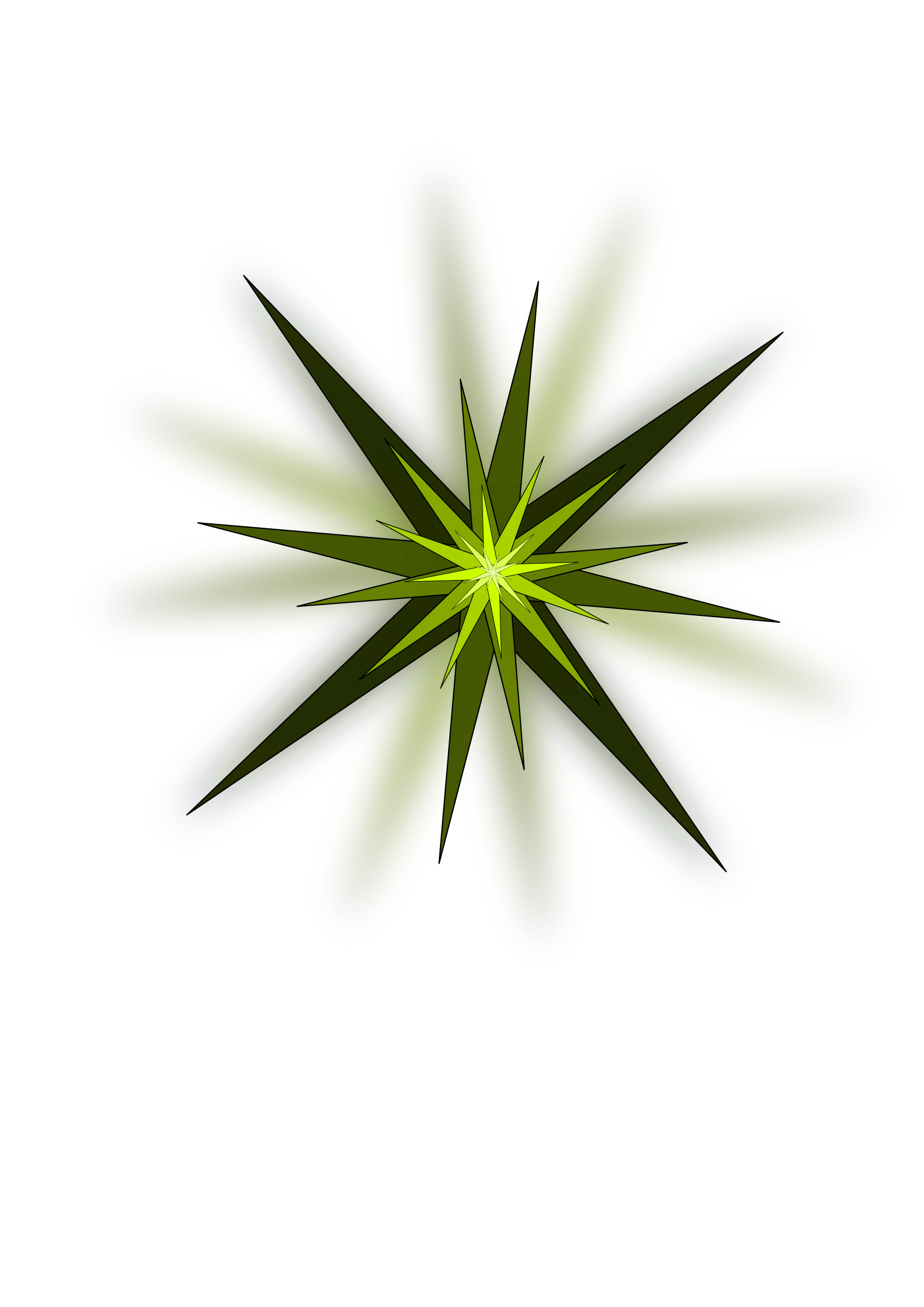 Green big image png. Clipart grass star