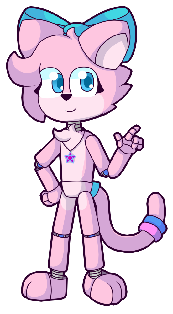 Pinky cat remake by. Clipart explosion drawing