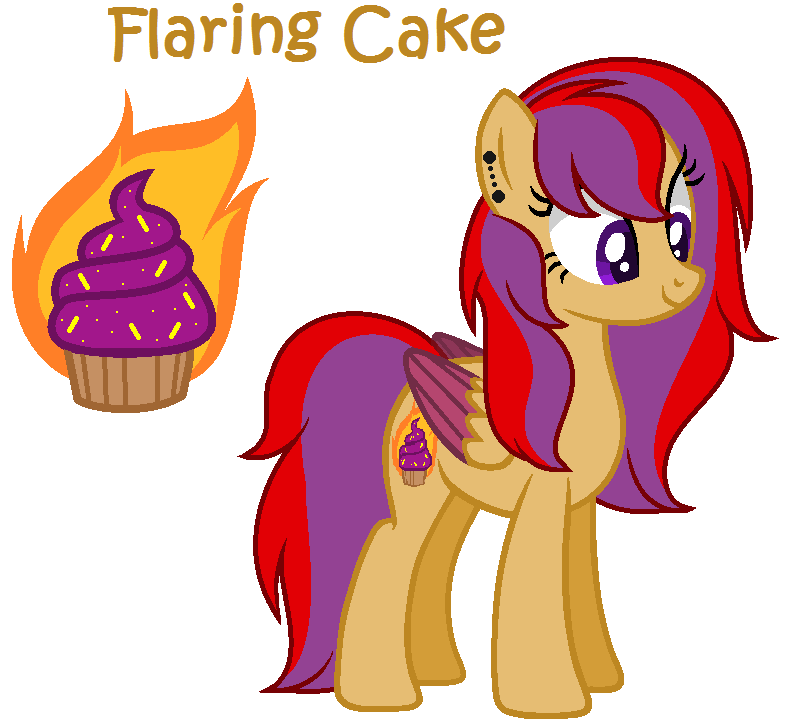Clipart explosion dynamic character. Flaring cake by xxmaikhanhflarexx