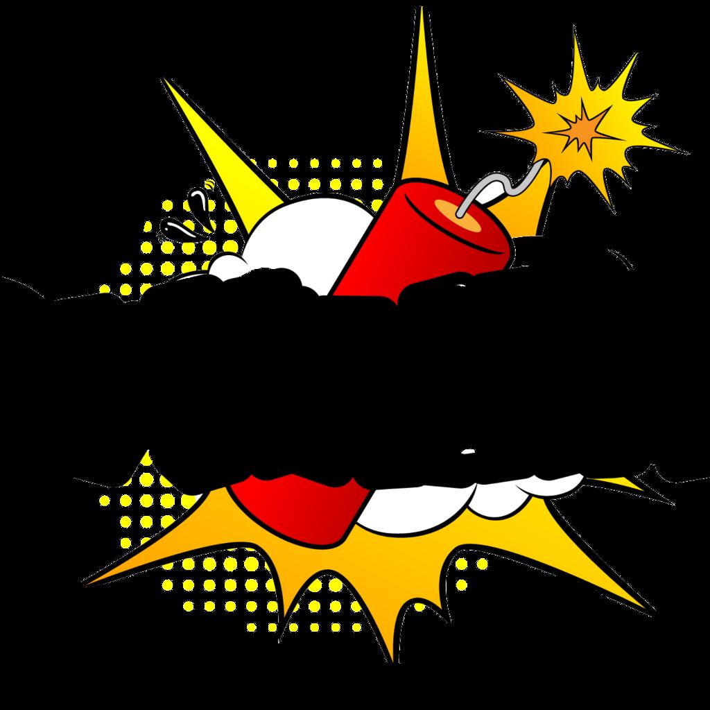 Explosion clipart dynomite. Dynamite natnat w sticker