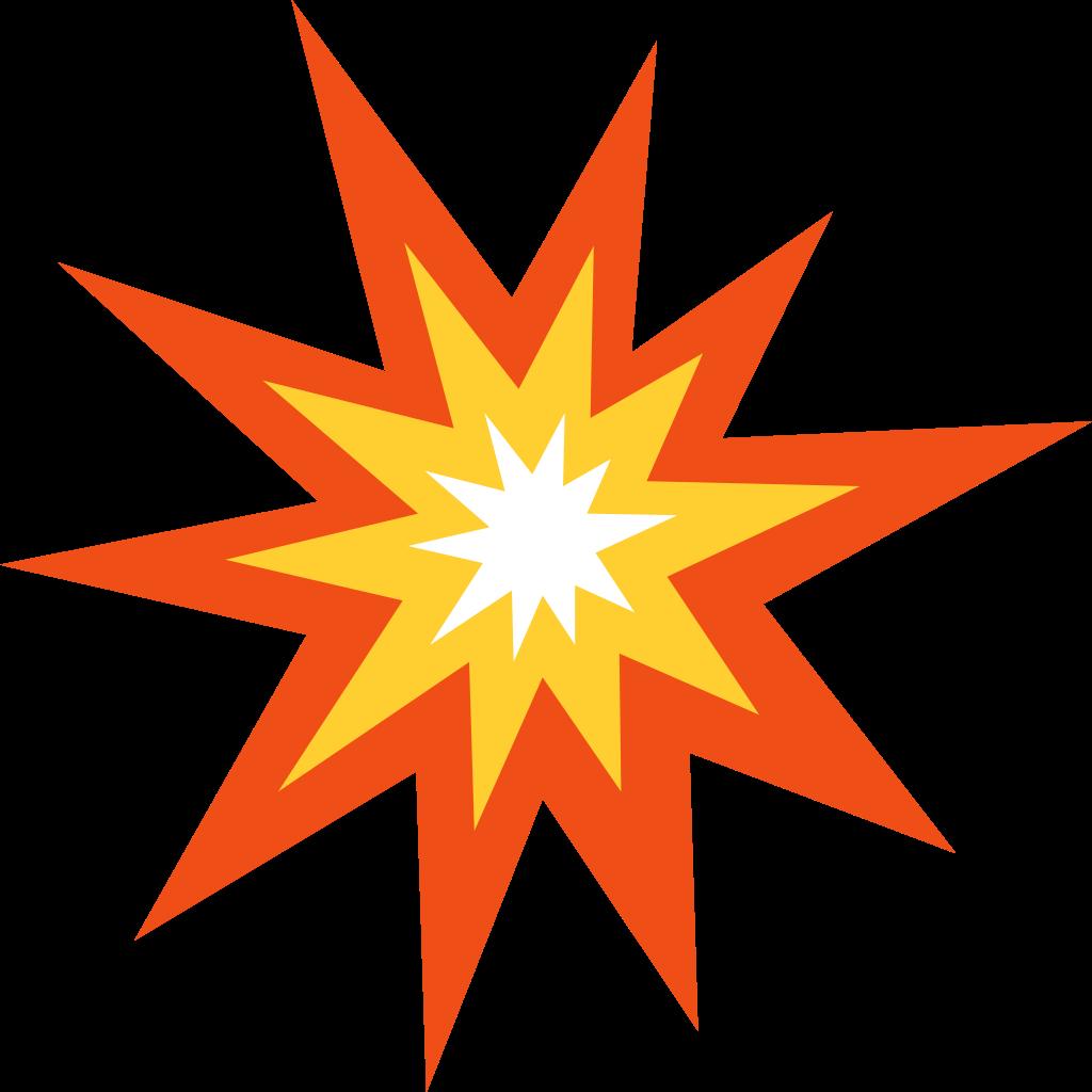Guess the emoticon clip. Emoji clipart explosion