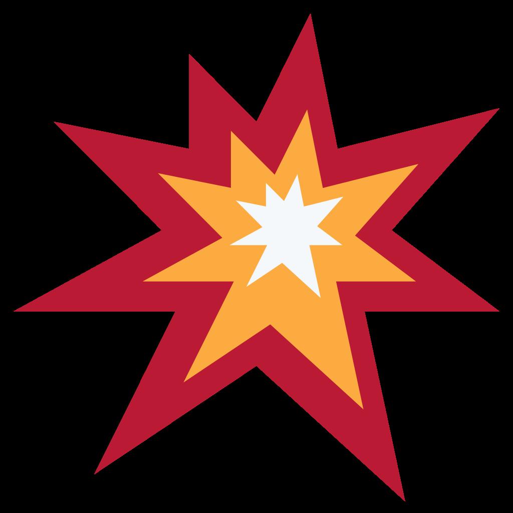Computer icons symbol emoticon. Emoji clipart explosion