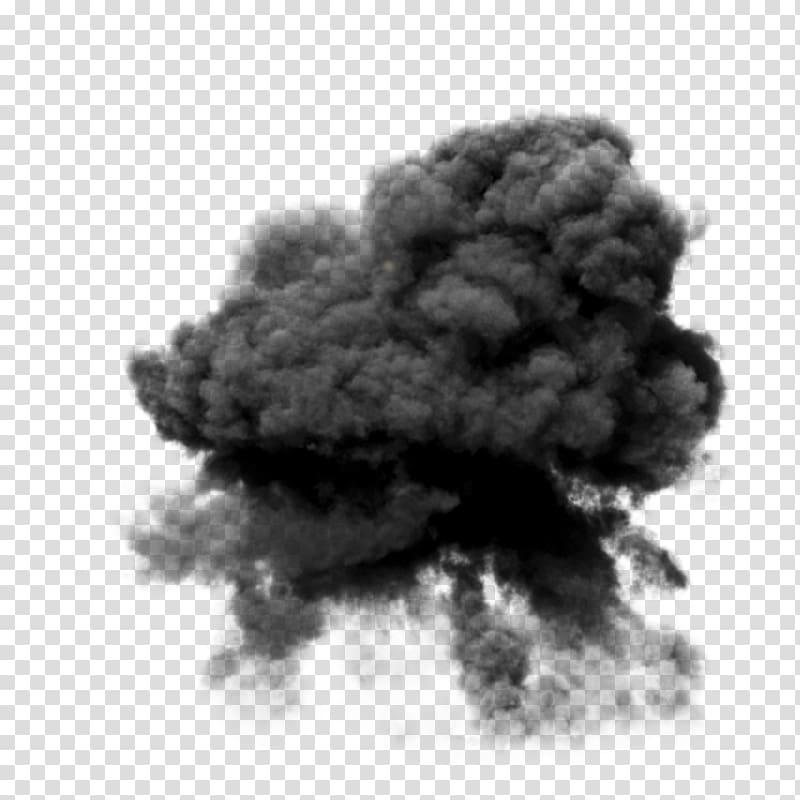 Black art transparent . Clipart explosion explosion smoke