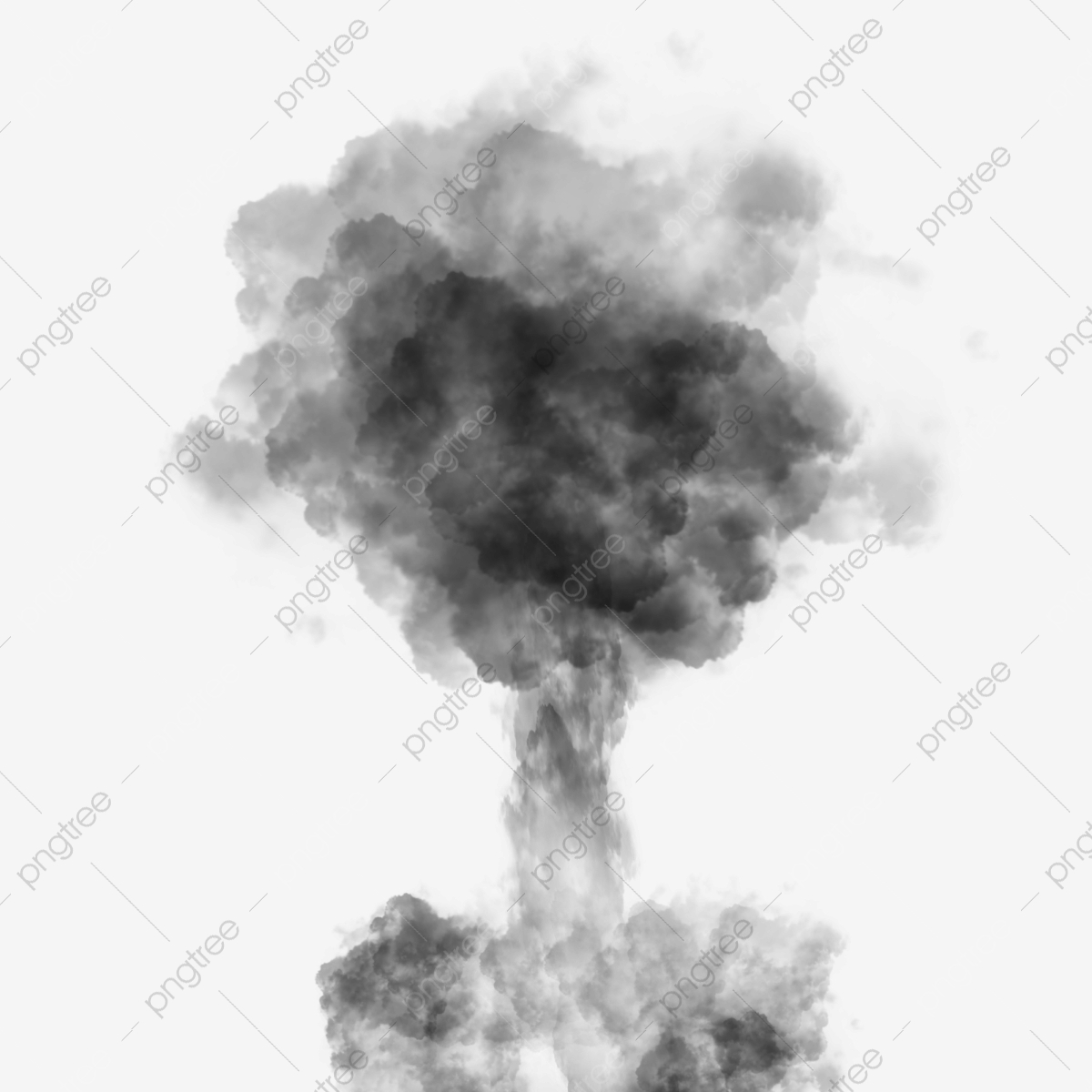 Nuclear photography . Clipart explosion explosion smoke