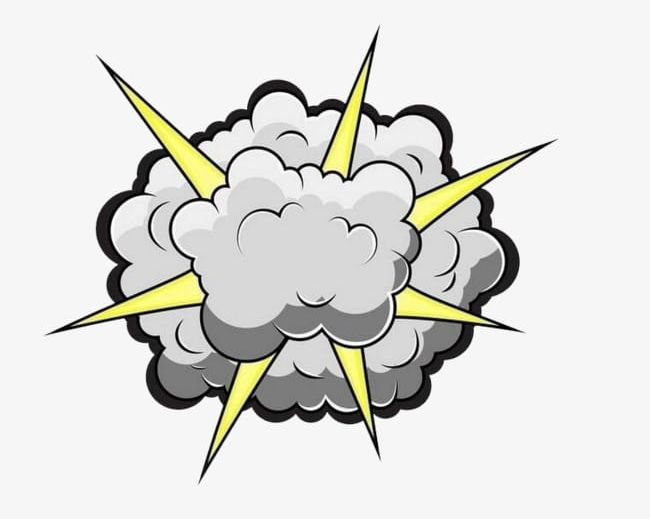 Explode the png . Clipart explosion explosion smoke