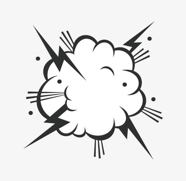 Clipart explosion explosion smoke. Png box bubble clouds