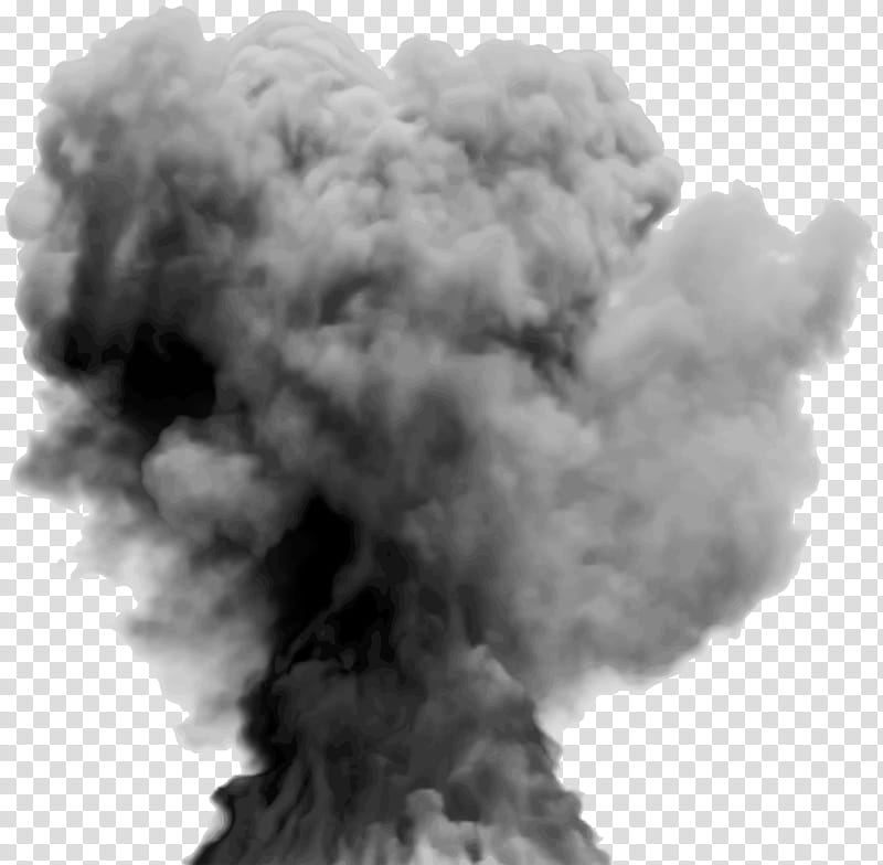 Clipart explosion explosion smoke. Gray cloudy sky transparent