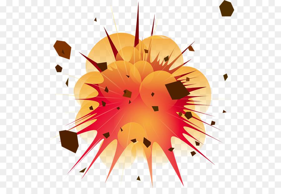 Cartoon flower circle . Clipart explosion expolsion