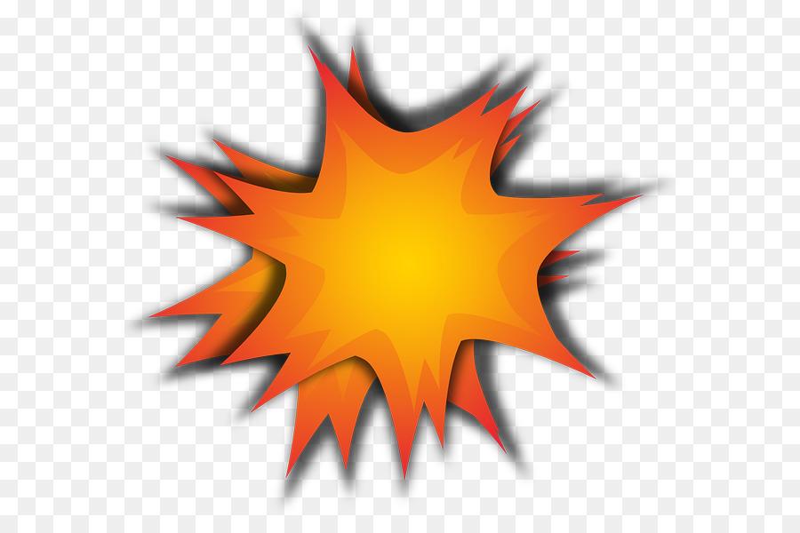 Clipart explosion expolsion. Mushroom cloud orange leaf