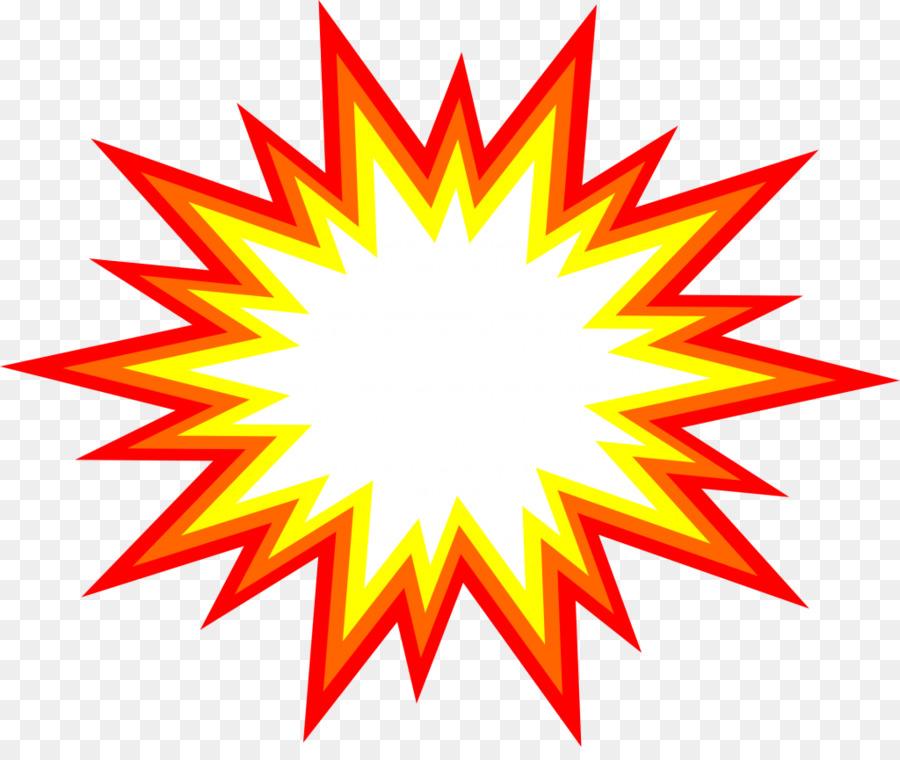 Cartoon star leaf . Clipart explosion expolsion