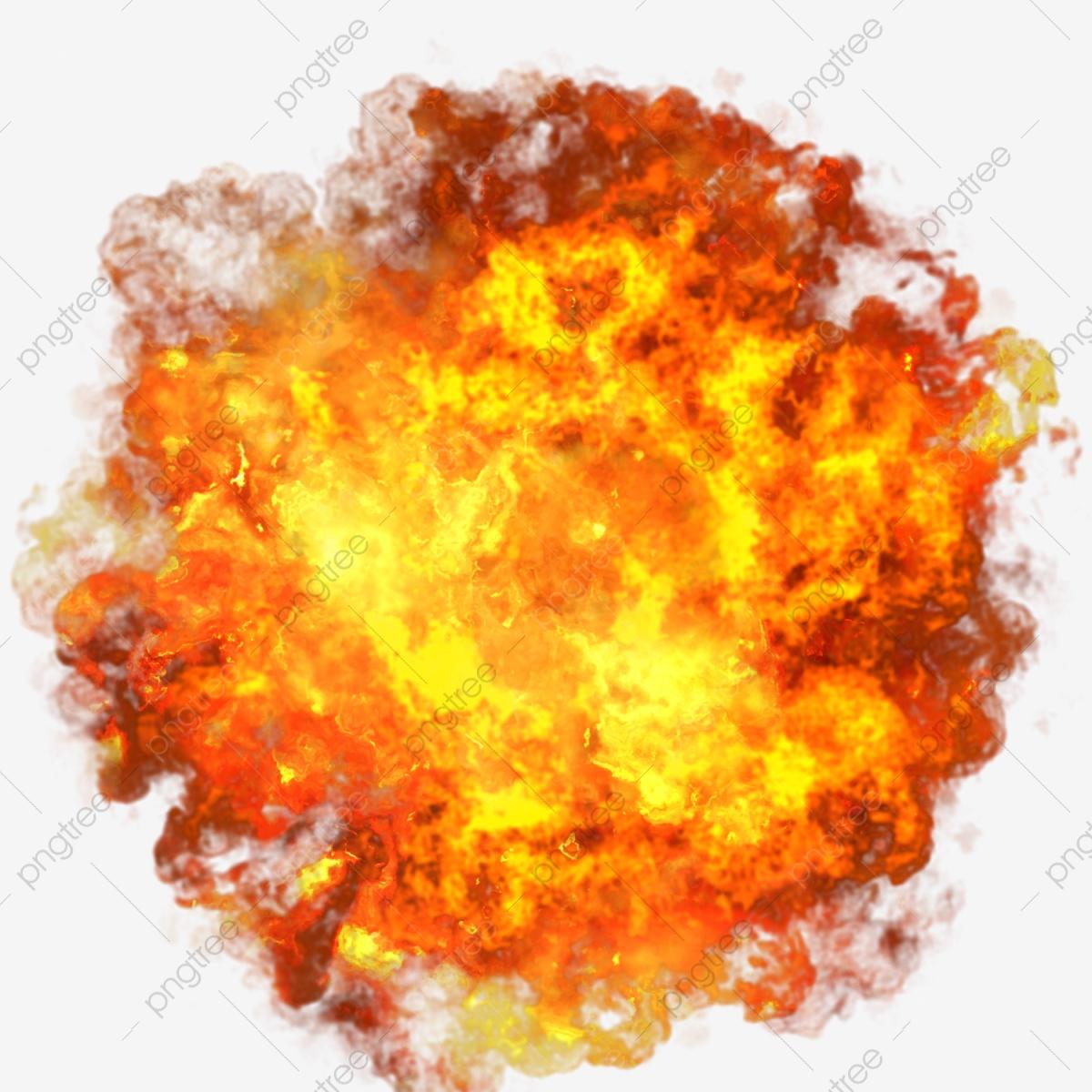 Fire blast png transparent. Explosion clipart flame
