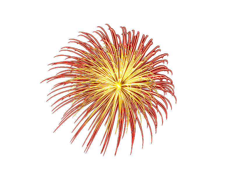 Clipart fireworks sparks. Stunning explosions png image