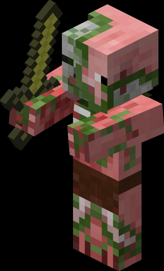 Zombie clipart ghoul. Pigman vs battles wiki