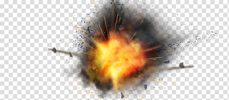 Explode desktop display resolution. Explosion clipart gas bomb