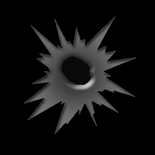 Clipart explosion gunshot. Download bullet shot hole