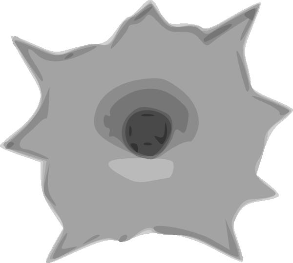 Bullet hole clip art. Clipart gun animated