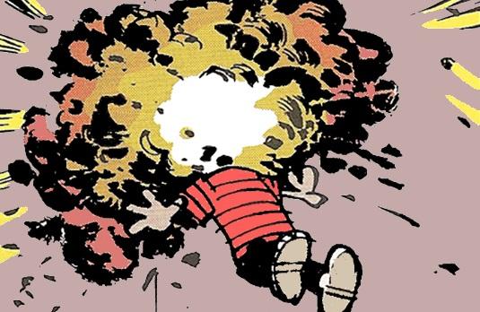 Explode calvin gregfallis com. Clipart explosion head explosion