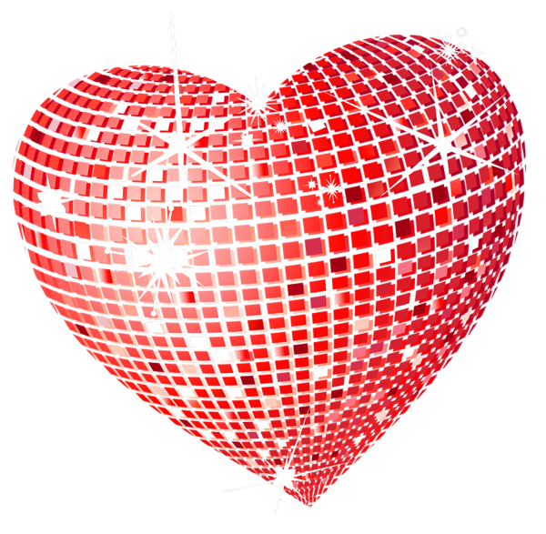 Red disco png picture. Clipart ocean heart