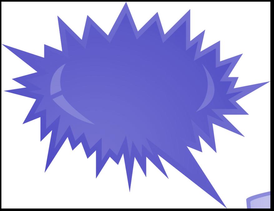 Purple free clip art. Clipart explosion illustration
