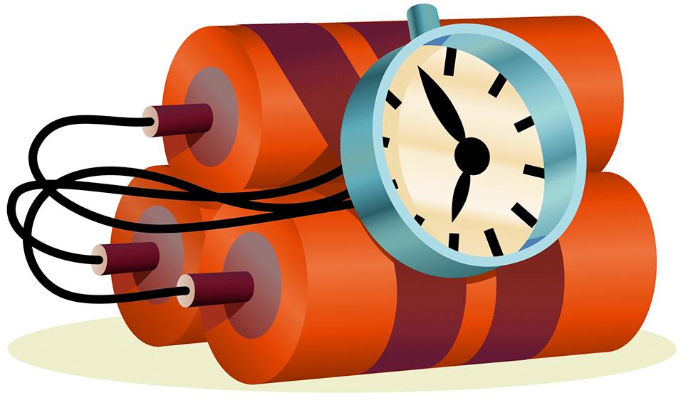 Clipart explosion illustration. Time bomb threat transprent
