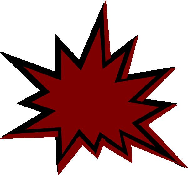 Pow clip art at. Clipart stars maroon