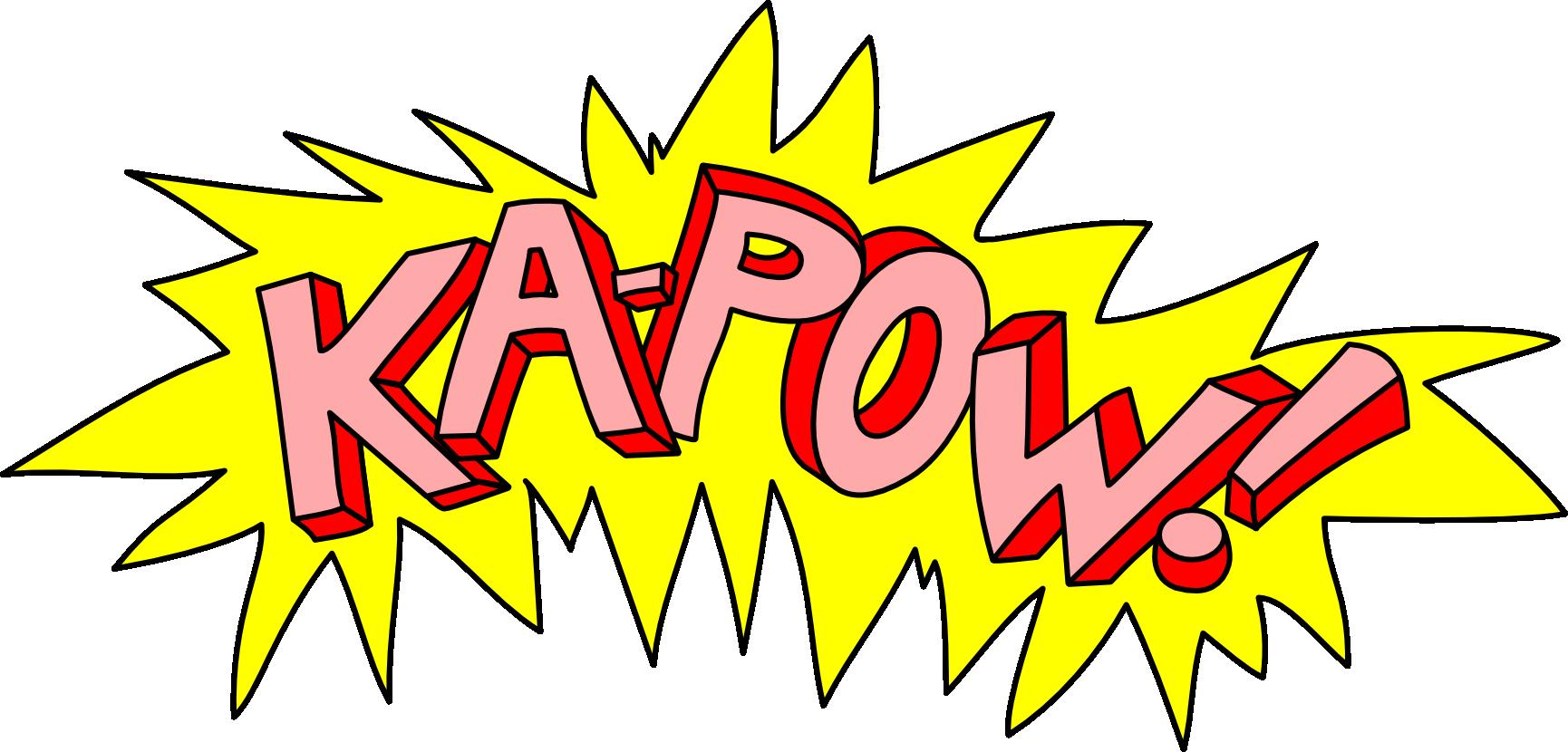 Aaaaahhhhhhhh make it stop. Clipart explosion kapow