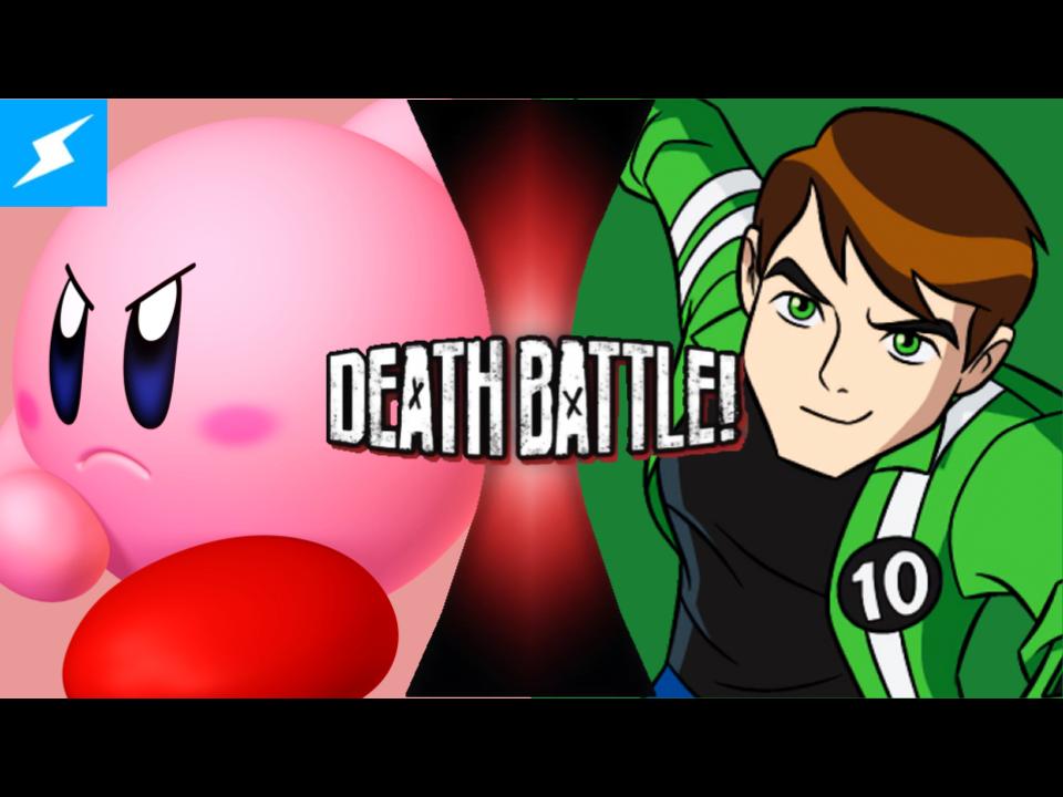 Yelling clipart good deed. Kirby vs ben tennyson