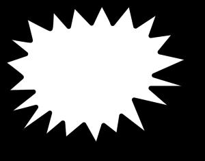 Clip clipartix cliparting com. Clipart explosion line art