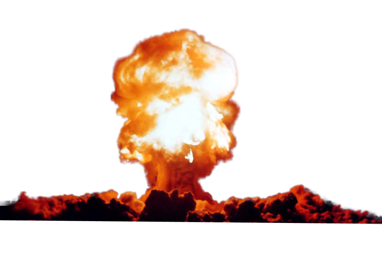 Nuclear weapon clip art. Explosion clipart gas bomb