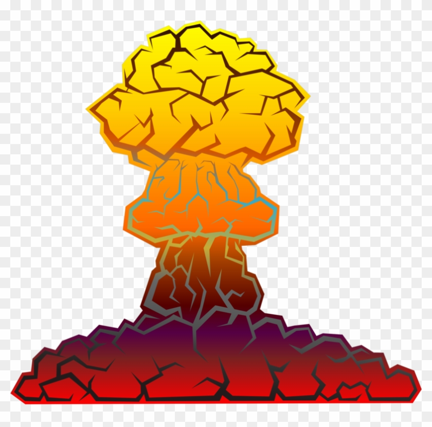 Nuke clipart little boy bomb. Nuclear warfare weapon explosion