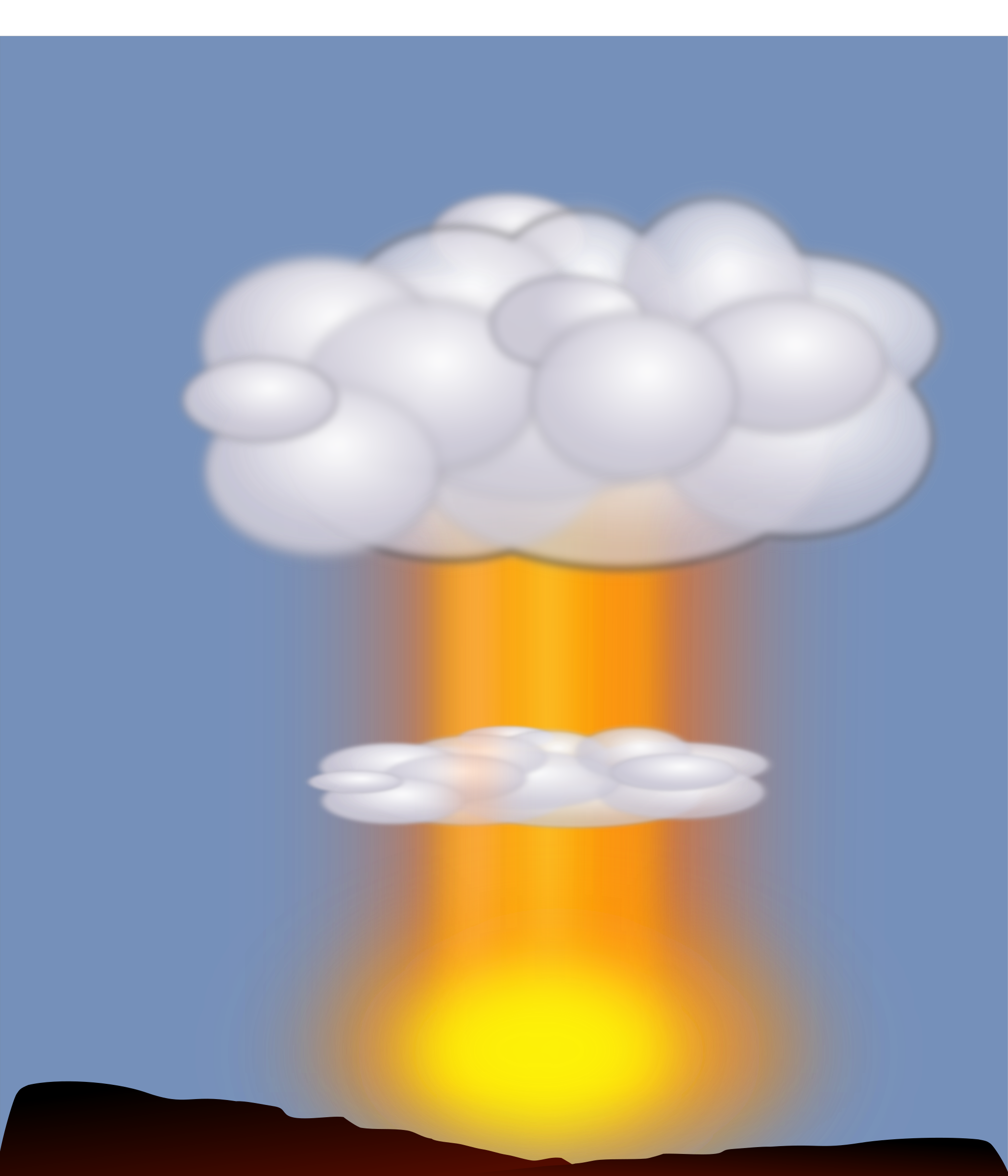 Big image png. Nuke clipart nuclear explosion