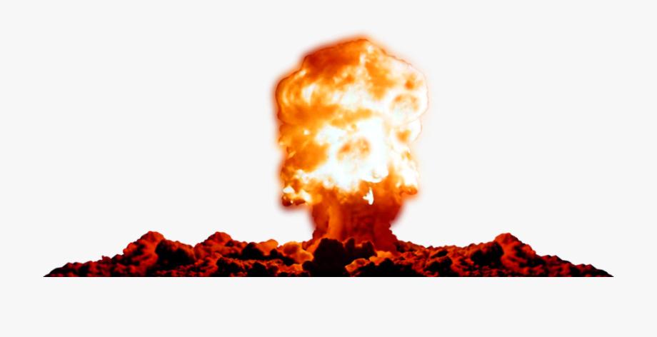 Free transparent pictures . Explosion clipart nuke explosion