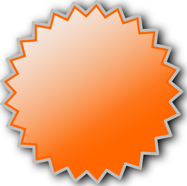Football clipart badge. Noonespillow basic starburst clip