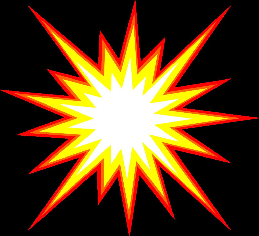 Cartoon comics comic book. Explosion clipart starburst