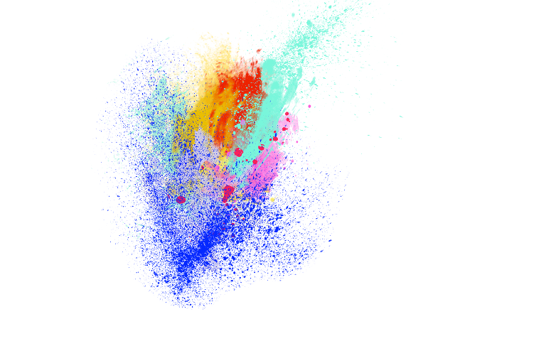 Paint clipart explosion. Color freetoedit report abuse