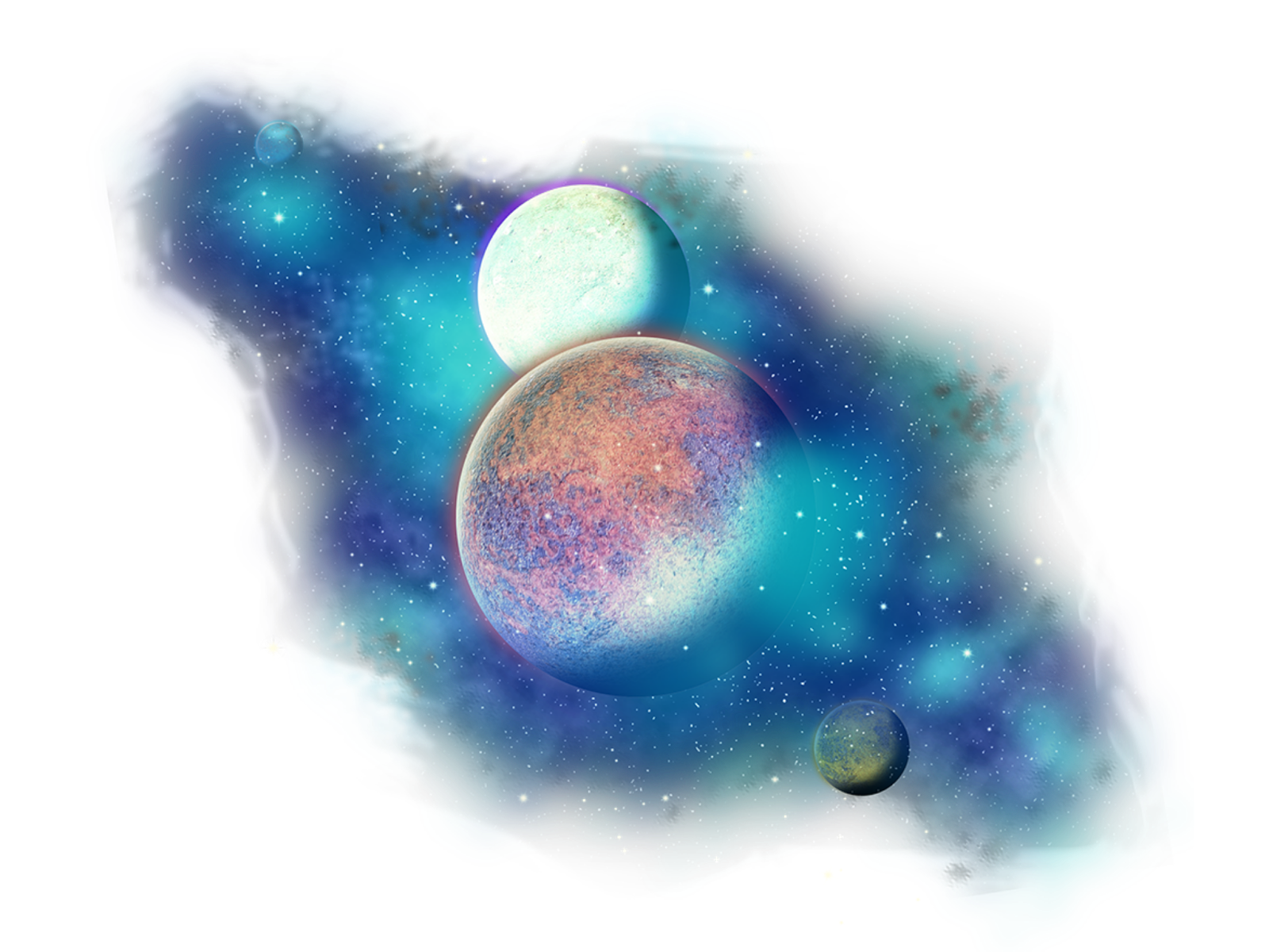 Freetoedit png stars with. Planets clipart galaxy