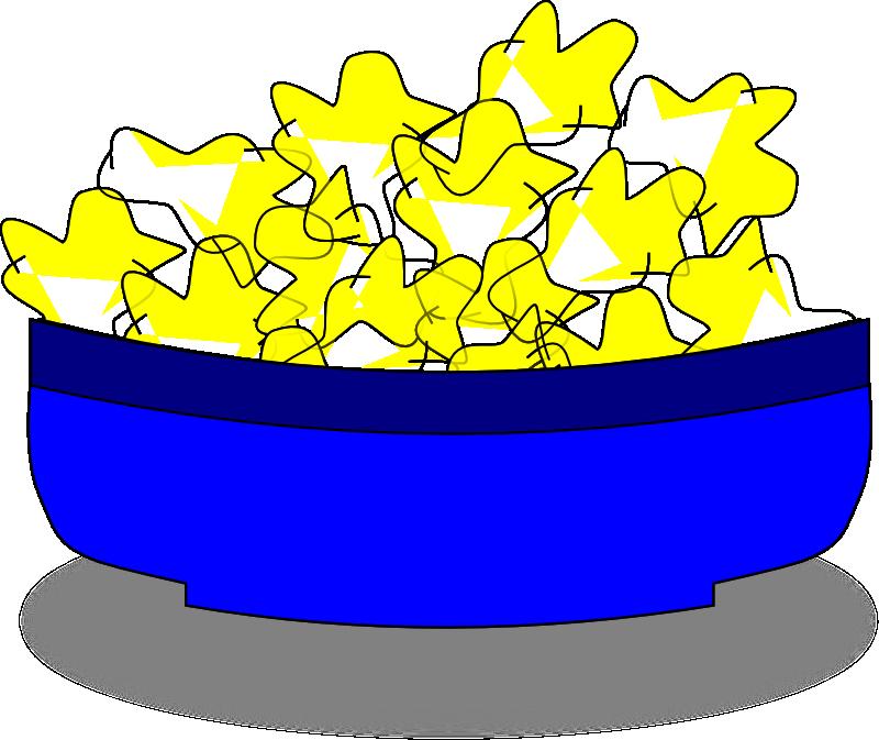 Clipart explosion popcorn. Bowl panda free images