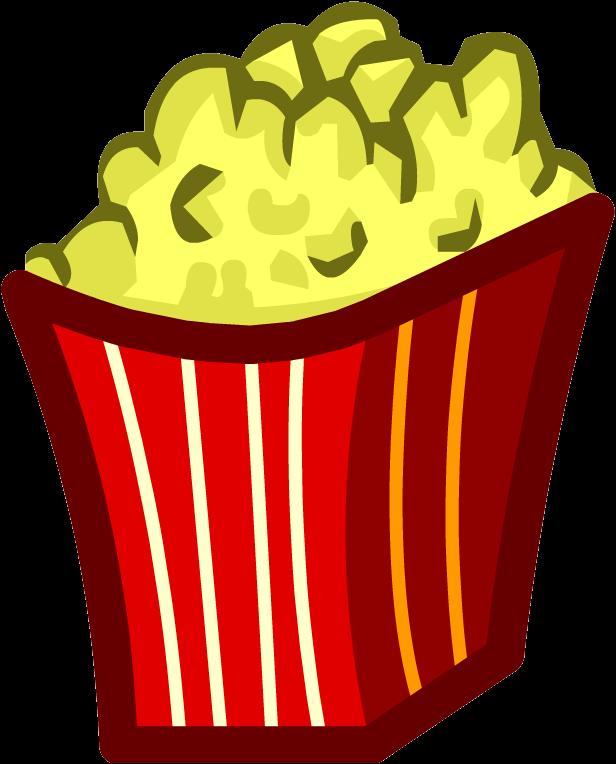 Popcorn club penguin wiki. French clipart icon