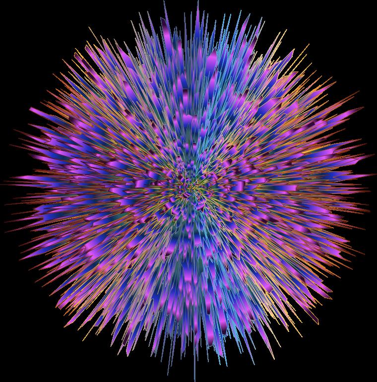 Clipart explosion purple. Chromaburst no background medium